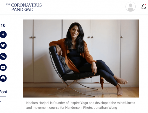 Inspire Yoga's Online Program Improves Corporate Executive Mental Health